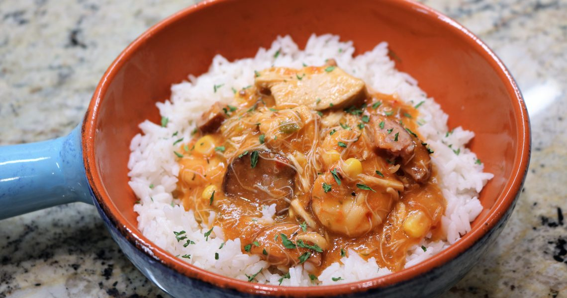 Chicken & Seafood Gumbo